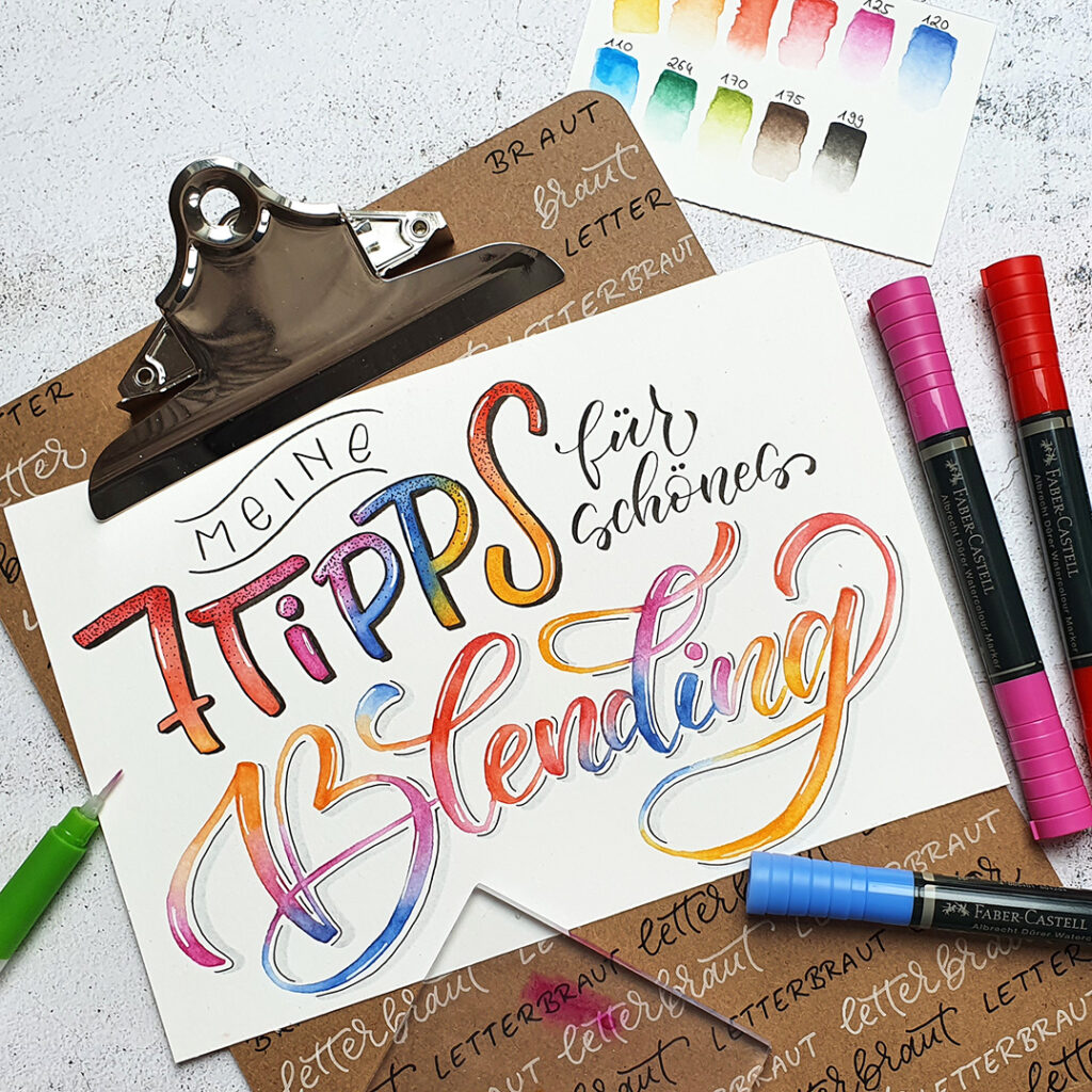 Handlettering.Blending.Blog