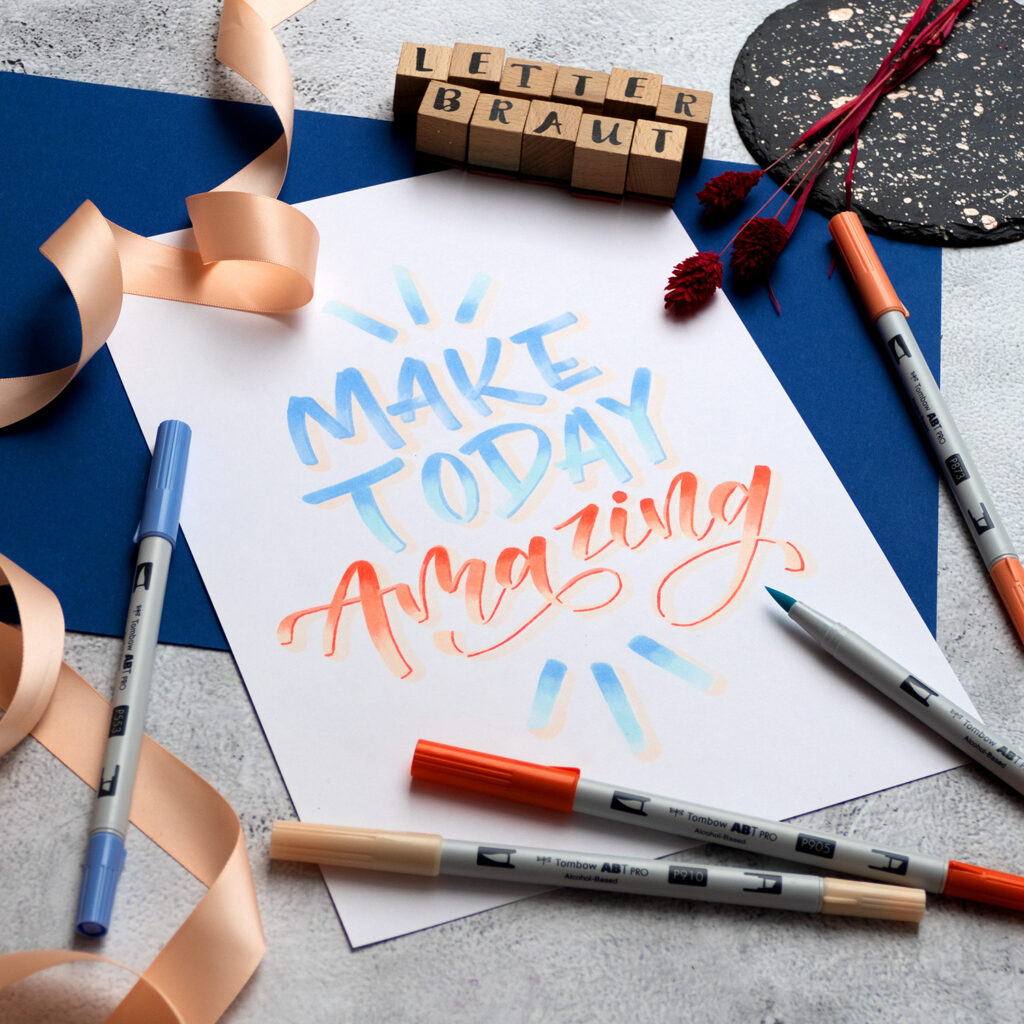 Tombow.Handlettering.Live