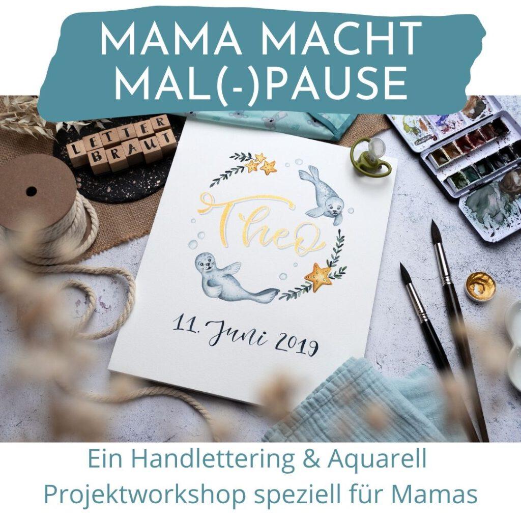 Handlettering.Workshop.Mama