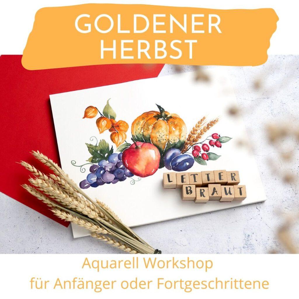 Aquarell Workshop Herbst